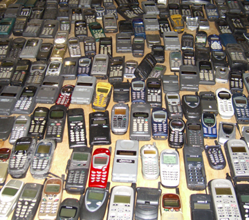 Old Cell Phones Donated to RFC