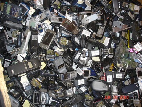 Scrap Cell Phone Parts