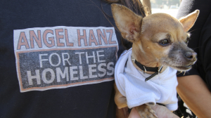 ANGEL HANZ FOR THE HOMELESS